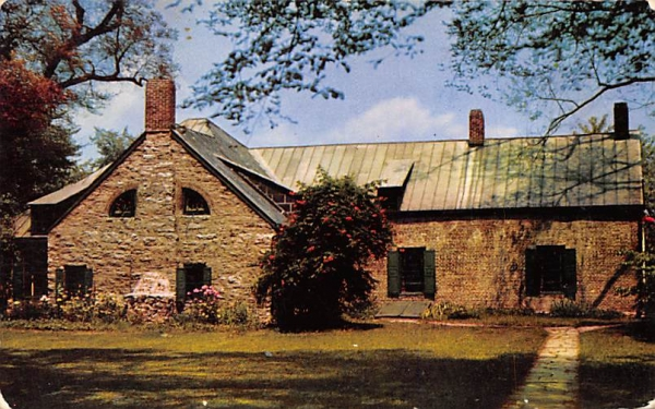 Old Senate House 1676 Kingston, New York Postcard