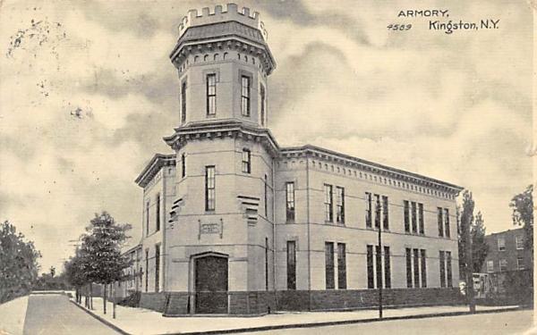Armory Kingston, New York Postcard