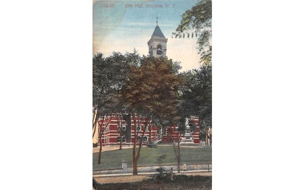 City Hall Kingston, New York Postcard