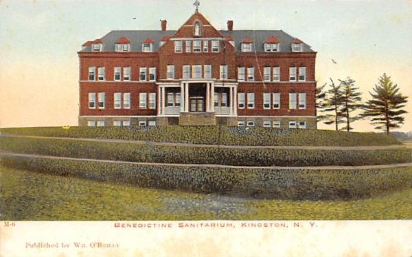 Benedictine Sanitarium and Nurses Home Kingston, New York Postcard