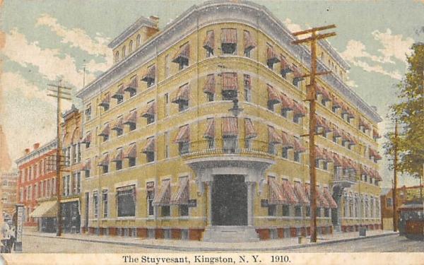 The Stuyvesant Kingston, New York Postcard