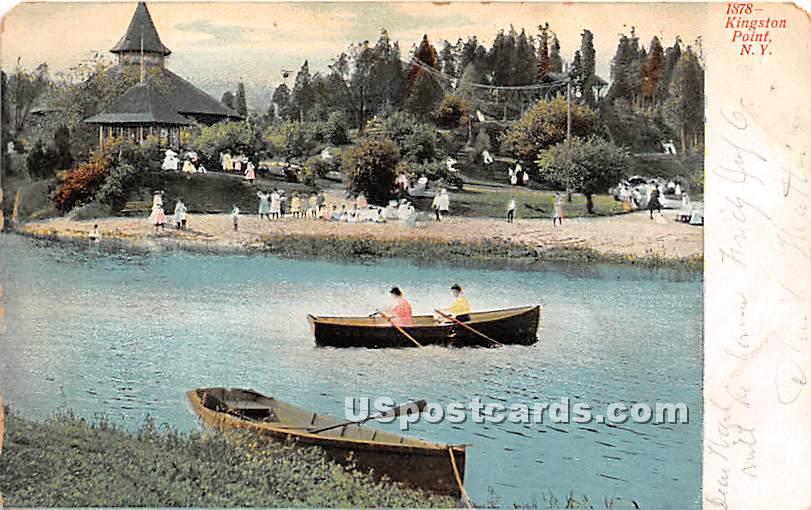 Kingston Point, New York NY Postcard