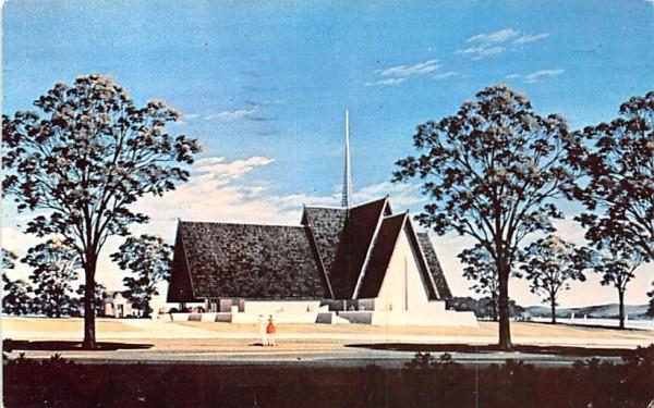 Keuka College Keuka Park, New York Postcard