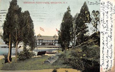Kingston Point Park New York Postcard
