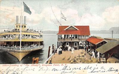 1882 The Albany Kingston, New York Postcard