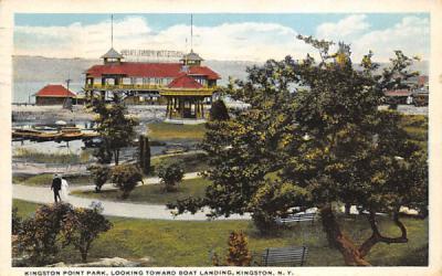 Kingston Point Park New York Postcard