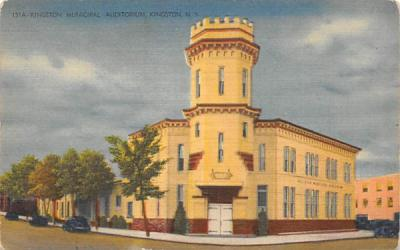 Kingston Municipal Court New York Postcard