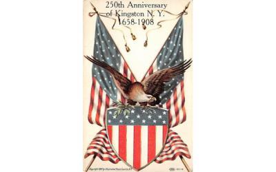 250th Anniversary Kingston, New York Postcard