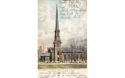 1877 Reform Protestant Dutch Church Kingston, New York Postcard