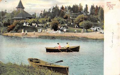 1878 Kingston Point New York Postcard