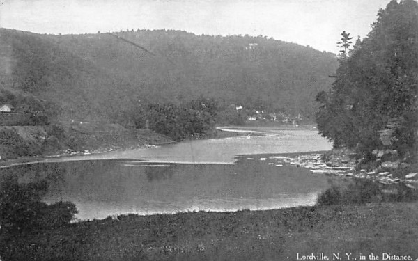 In the Distance Lordville, New York Postcard