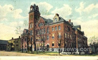 Union School - Lyons, New York NY Postcard