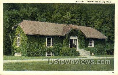 Museum - Letchworth Park, New York NY Postcard