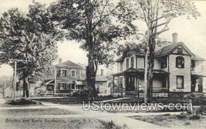 Brigden - Locke, New York NY Postcard