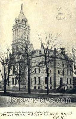 Court House - Lockport, New York NY Postcard