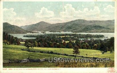 Green Island - Lake George, New York NY Postcard