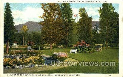 Huletts Langing - Lake George, New York NY Postcard