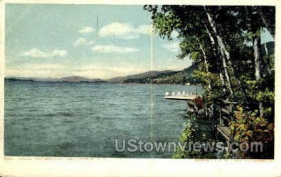 The Birches - Lake George, New York NY Postcard