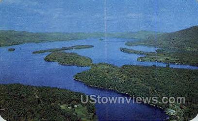 Top O' the World - Lake George, New York NY Postcard