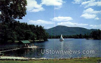 Algonquin Bay - Lake George, New York NY Postcard