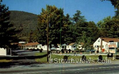 Cole's Motel & Cottages - Lake George, New York NY Postcard