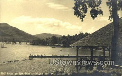 Silver Bay - Lake George, New York NY Postcard