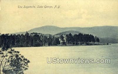 Sagamore - Lake George, New York NY Postcard