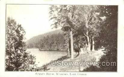 Wiawaka - Lake George, New York NY Postcard