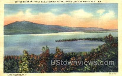 Long Island - Lake George, New York NY Postcard