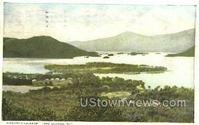 Hundred Island - Lake George, New York NY Postcard