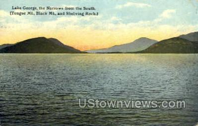 Tongue Mt. - Lake George, New York NY Postcard