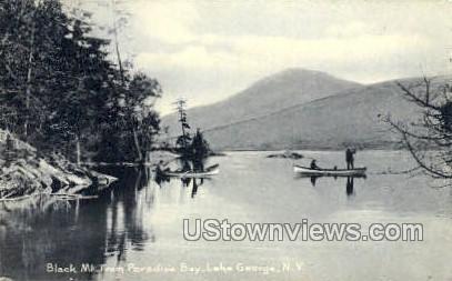 Black Mt. - Lake George, New York NY Postcard