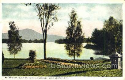 Bolton Bay - Lake George, New York NY Postcard