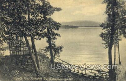 Ripleys Point - Lake George, New York NY Postcard