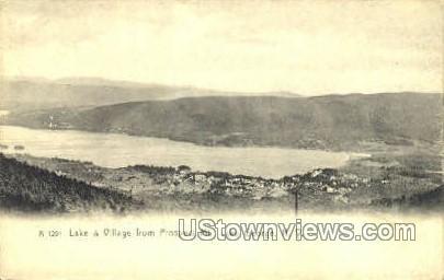Prospect Mt. - Lake George, New York NY Postcard
