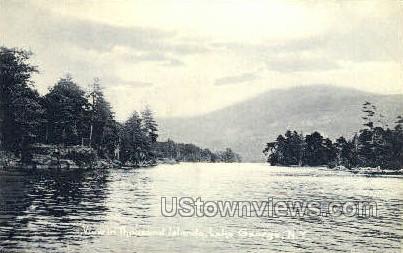 Thousand Island - Lake George, New York NY Postcard