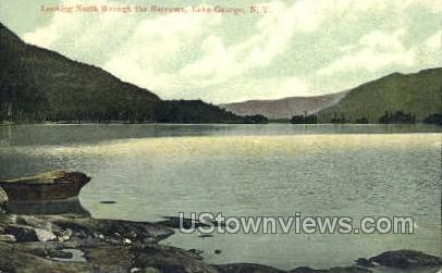 The Narrows - Lake George, New York NY Postcard