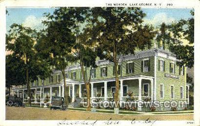 The Worden - Lake George, New York NY Postcard