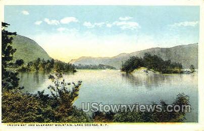 Indian Bay - Lake George, New York NY Postcard