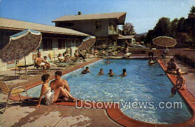 Lake Haven Motel - Lake George, New York NY Postcard