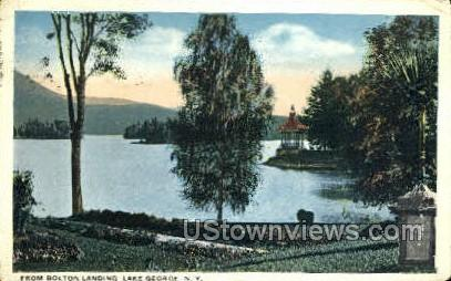 Bolton Landing - Lake George, New York NY Postcard