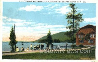 Casino - Lake George, New York NY Postcard