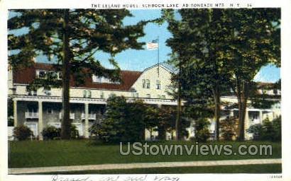 Leland House - Lake George, New York NY Postcard