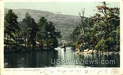Harbor Islands - Lake George, New York NY Postcard