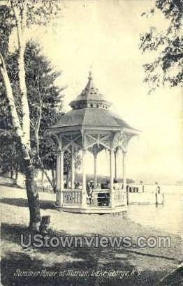 Summer House - Lake George, New York NY Postcard