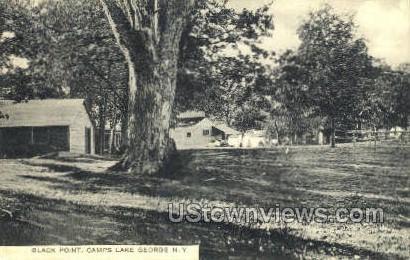Black Point - Lake George, New York NY Postcard