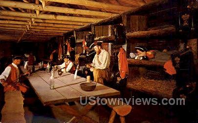 Fort William Henry - Lake George, New York NY Postcard