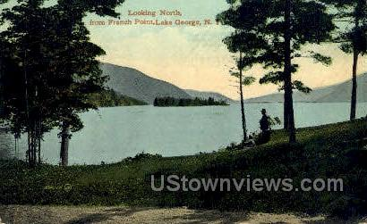 French Point - Lake George, New York NY Postcard