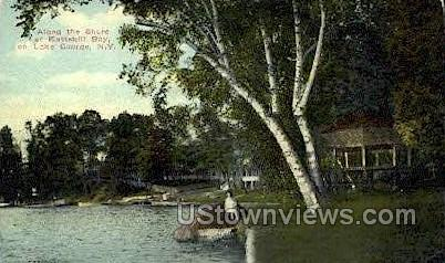 Kattskill Bay - Lake George, New York NY Postcard