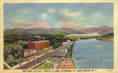 Hotel Marcy - Lake Placid, New York NY Postcard